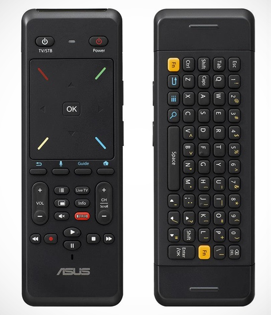 Asus Qube Google TV Media Streamer remote