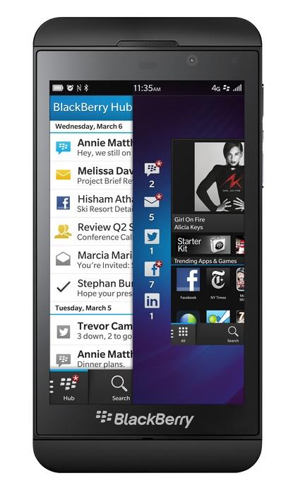 BlackBerry Z10 BB10 Smartphone black