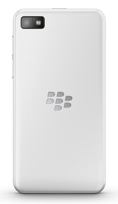 BlackBerry Z10 BB10 Smartphone white back