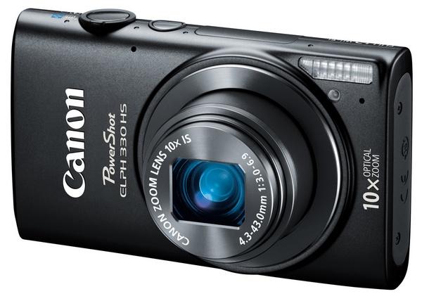 Canon PowerShot ELPH 330 HS Camera black