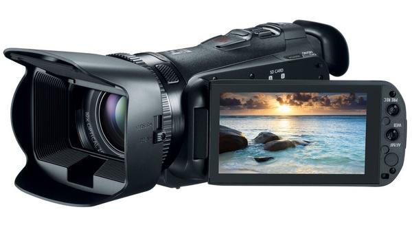 Canon VIXIA HF G20 Prosumer Full HD Camcorder angle