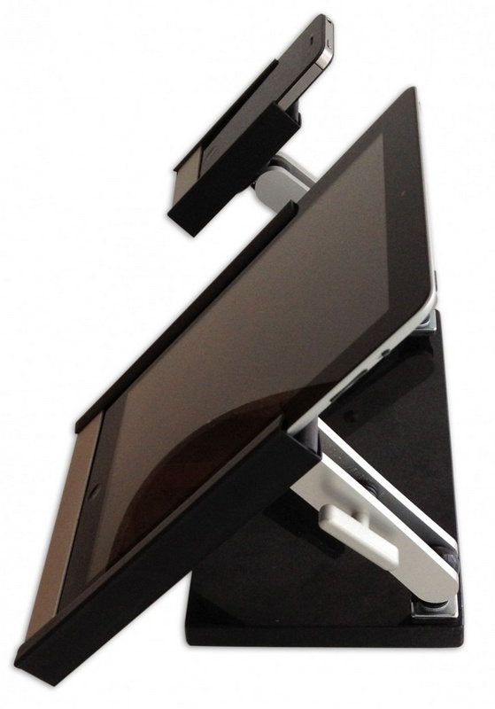 Cool Invent Dual VERSI Stand for ipad iphone side