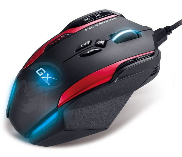 Genius Gila Professional Gaming Laser Mouse top