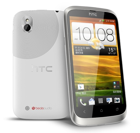 HTC Desire U 4-inch Budget Smartphone white
