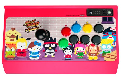 Mad Catz Street Fighter X Sanrio Arcade FightStick PRO top