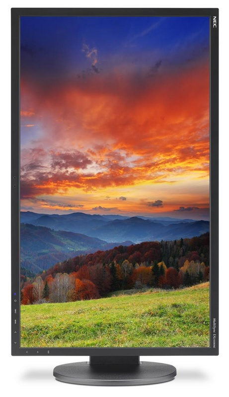NEC MultiSync EA244WMi 24-inch IPS Display portrait
