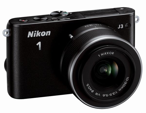 Nikon 1 J3 mirrorless camera black