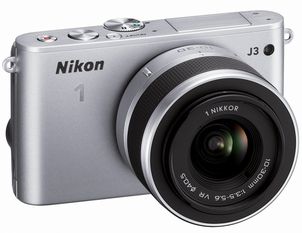 Nikon 1 J3 mirrorless camera silver