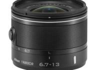 Nikon 1 NIKKOR VR 6.7-13mm wide angle lens