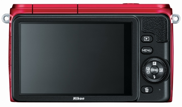 Nikon 1 S1 mirrorless camera back