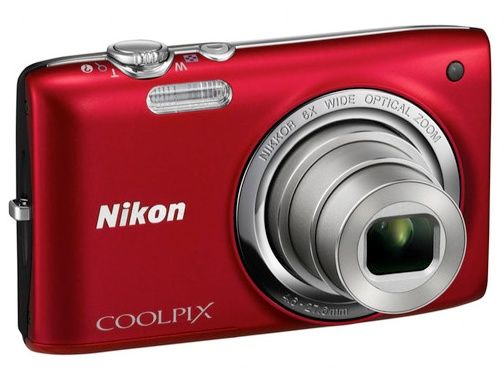 Nikon CoolPix S2700 Compact Digital Camera red