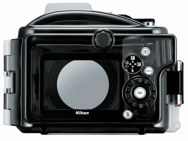 Nikon WP-N2 Waterproof Case for Nikon 1 J3 and S1 back