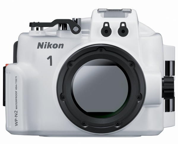 Nikon WP-N2 Waterproof Case for Nikon 1 J3 and S1 front