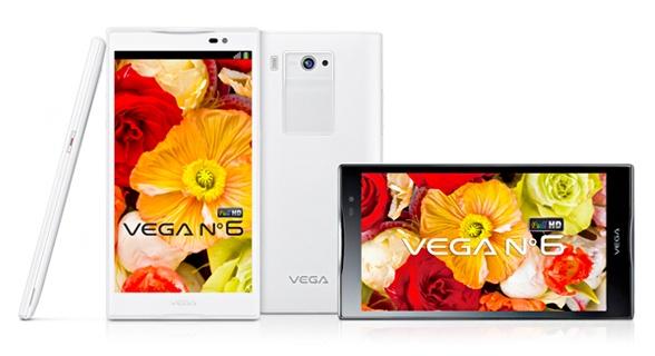 Pantech Vega No.6 5.9-inch 1080p Smartphone