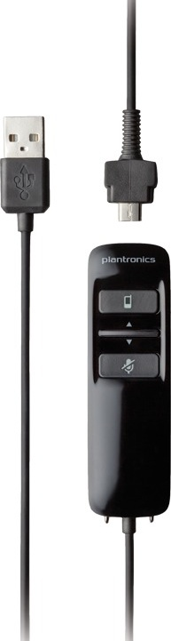 Plantronics Blacktop 500 Bluetooth Headset for Commercial Drivers controller