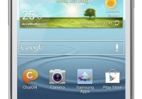 Samsung Galaxy S II Plus runs Android 4.1.2 Jelly Bean white