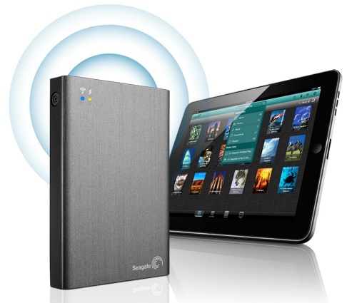 Seagate Wireless Plus Mobile Drive Stream Media to your Tablets, Smartphones