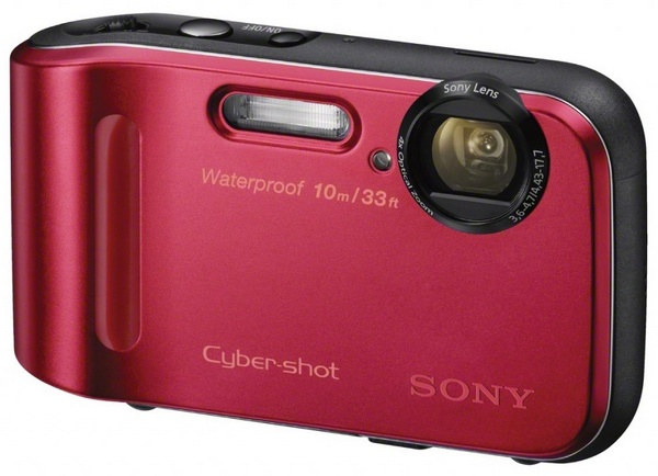 Sony Cyber-shot DSC-TF1 Rugged Camera red