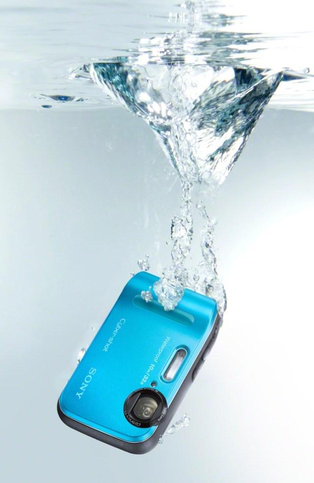 Sony Cyber-shot DSC-TF1 Rugged Camera waterproof