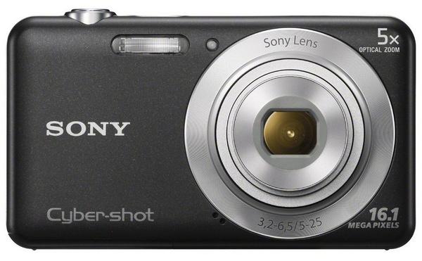 Sony Cyber-shot DSC-W710 digital camera black