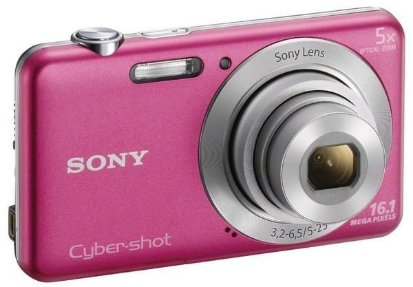 Sony Cyber-shot DSC-W710 digital camera pink