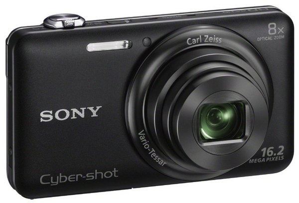 Sony Cyber-shot WX80 8x Zoom Camera with WiFi black