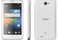 Acer Liquid C1 Intel Atom-powered Smartphone white