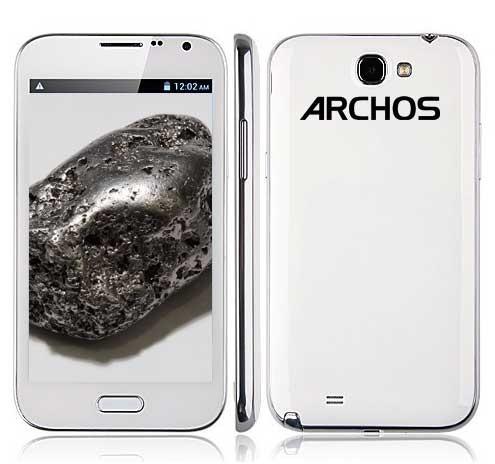 Archos 52 Titanium Android smartphone