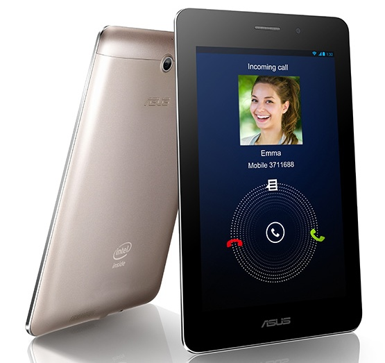 Asus FonePad 7-inch Tablet doubles as a Phone