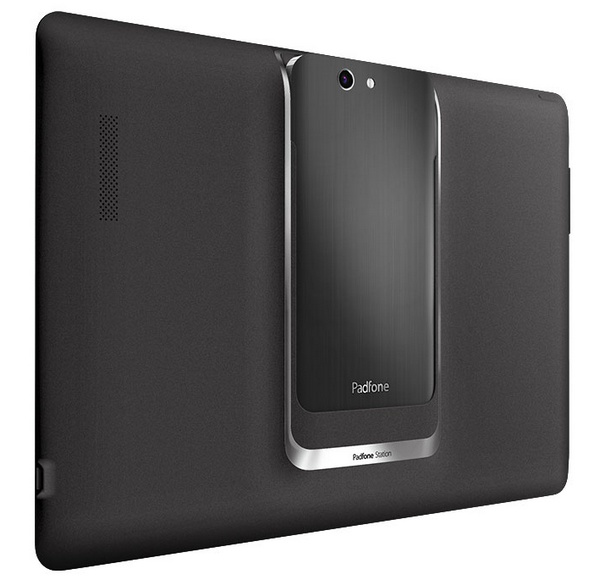 Asus PadFone Infinity Phone-Tablet Hybrid docked back