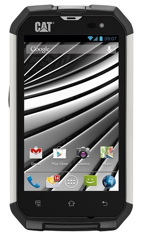 Caterpillar CAT B15 Rugged Android Smartphone front