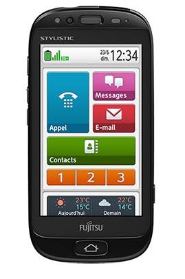 Fujitsu STYLISTIC S01 Smartphone for Senior Users