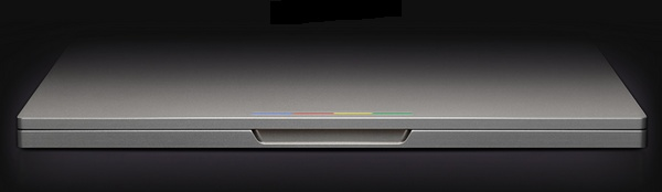 Google Chromebook Pixel closed front
