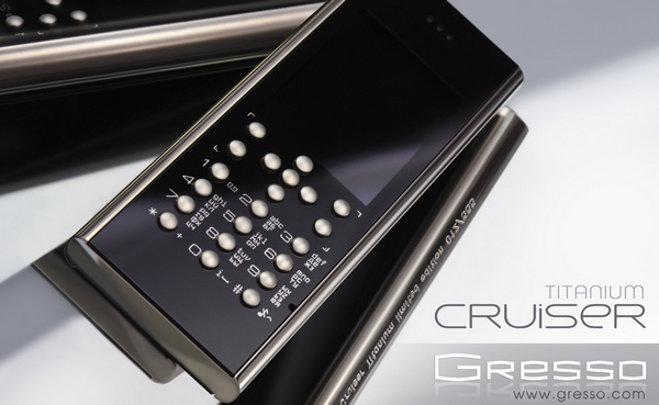 Gresso Crusier Titanium Luxury Phone 1