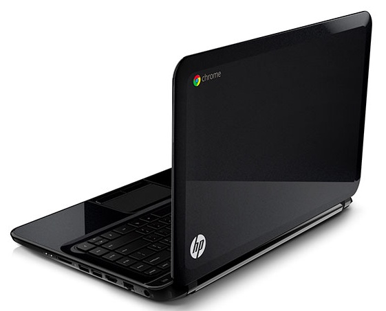 HP Pavilion 14 Chromebook back