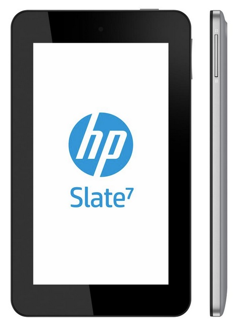 HP Slate 7 Affordable 7-inch Android Tablet front side