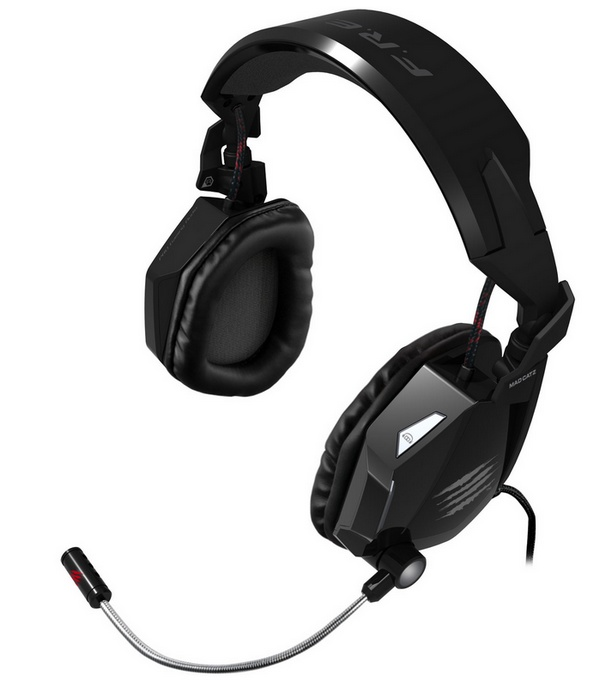 Mad Catz F.R.E.Q. 7 7.1 Surround Sound Gaming Headset all black