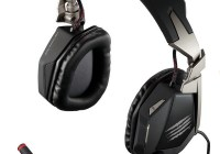 Mad Catz F.R.E.Q. 7 7.1 Surround Sound Gaming Headset black silver