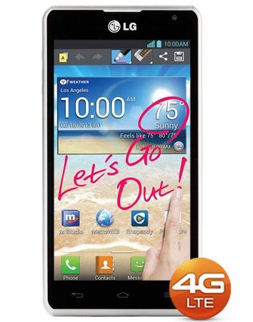 MetroPCS LG Spirit 4G LTE Smartphone