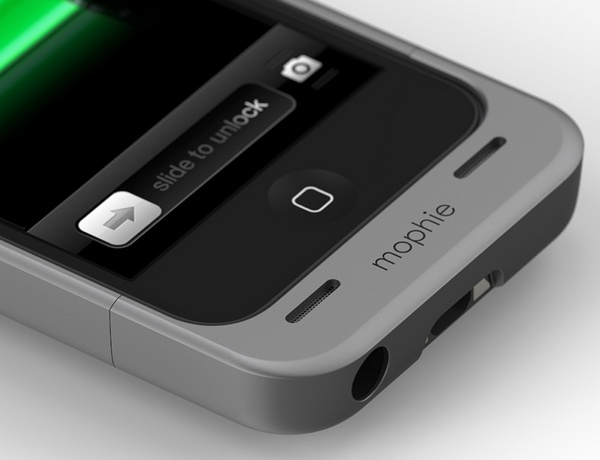 Mophie Juice Pack Helium iPhone 5 Battery Case bottom