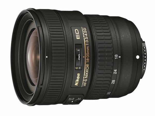 Nikon AF-S NIKKOR 18-35mm f3.5-4.5G ED lens