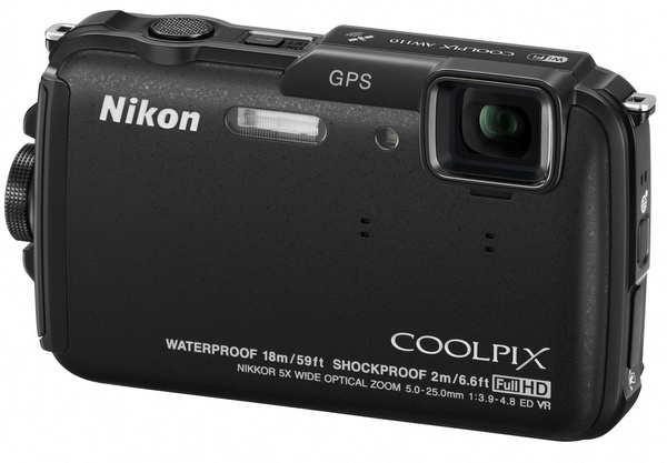 Nikon CoolPix AW110 rugged four-proof camera black