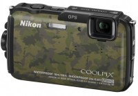 Nikon CoolPix AW110 rugged four-proof camera camouflage