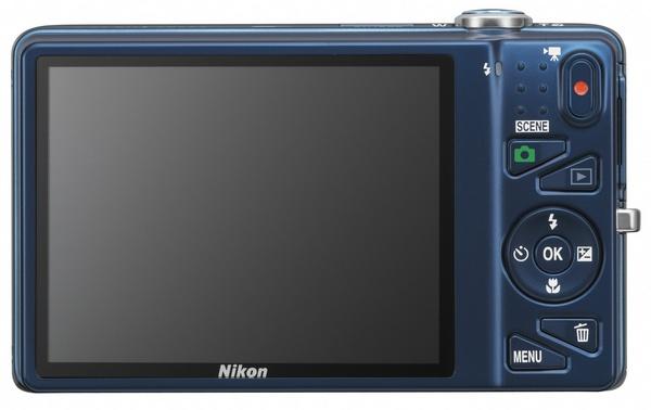 Nikon CoolPix S5200 digital camera back
