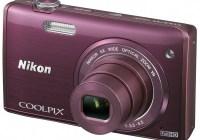 Nikon CoolPix S5200 digital camera plum