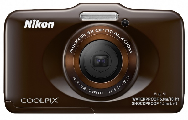 Nikon Coolpix S31 budget-friendly rugged digital camera brown