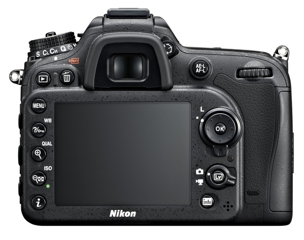 Nikon D7100 DX-Format DSLR back