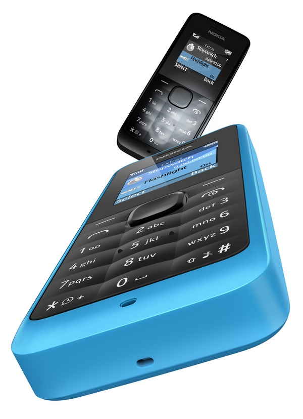 Nokia 105 Low-cost Feature Phone blue