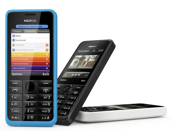 Nokia 301 feature phone