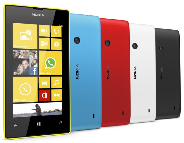 Nokia Lumia 520 is an Affordable WP8 Smartphone colors 2